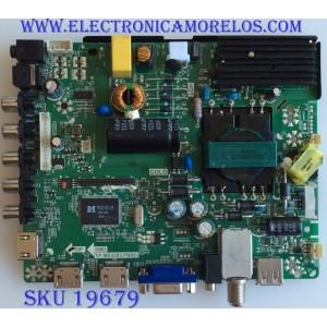 MAIN / FUENTE / (COMBO) / 34011694 / B140041661 /TP.MS3393.PB851 / PANEL V390HJ5-XCPE1 / MODELO ELEFW408