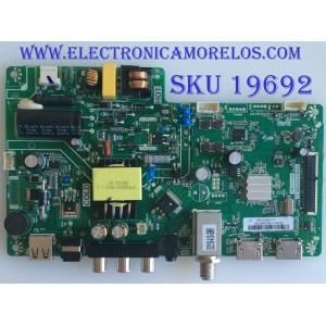 MAIN / FUENTE  / (COMBO) / TOSHIBA / B18010356 / 3MS553B0 / TP.MS3553.PB982 / 02-SH353A-C013000 / PANEL LVW320C5DX E26 V62 / MODELO 32L220U19