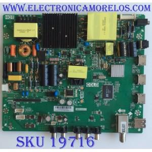MAIN / FUENTE / (COMBO) / INSIGNIA / B15082906 / 3MS93AX13 / TP.MS3393.PC787 / PANEL LVF550CSDXE6V4 /