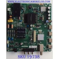 MAIN / FUENTE / (COMBO) / TOSHIBA / H17020287 / TP.MS3553.PC706 / 144198 / PANEL K430WDRC / MODELO 43L420U