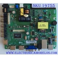 MAIN / FUENTE  / (COMBO) / ELEMENET  / L16021366 / TP.MS3393.PB818 / SY16126-2 / PANEL T320-0CL-DLED / MODELO ELEFW328B