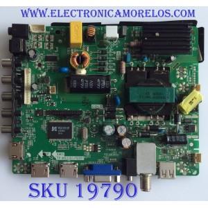 MAIN / FUENTE / (COMBO) / ELEMENT / B14060072 / TP.MS3393.PB851 / PANEL V400HJ6-PE1 / MODELO ELEFW408 F1401
