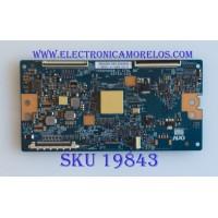 T-CON / SONY / 5550T20C14 / T500HVN08.2 CTRL BD / 55T23-C03 / PANEL V500FWME01 / MODELO KDL-50W800C