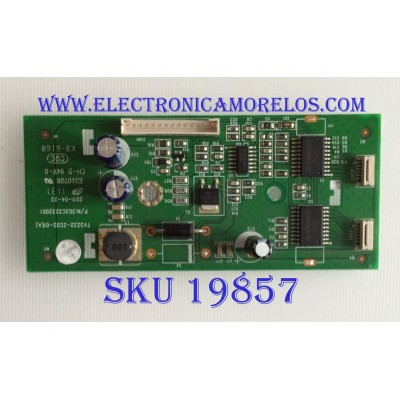 LED DRIVER / WESTINGHOUSE / 303C3232061 / TV3232-ZC02-01(A) / PANEL T315XW04 V.8 / MODELO LD-3240