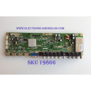 MAIN / VIORE SMT110444 / SMT110444-0485 / CV318-D-12 / PANEL LTA400HMM17 / MODELO LC40VF80