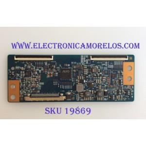 T - CON / SHARP / 5555T23C02 / T420HVN06.3 CTRL BD / 42T34-C03 / MODELO LC-55LE653U