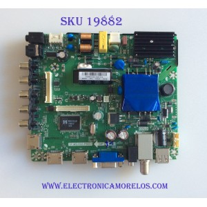MAIN / FUENTE (COMBO) / ELEMENT H16081343 / TP.MS3393.PB801 / 34016550 / PANEL LC390T A2A / MODELO ELEFW328