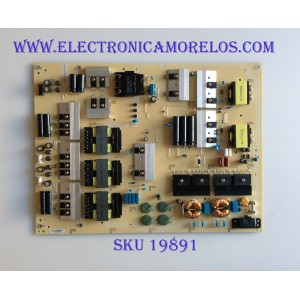 FUENTE DE PODER / VIZIO ADTVH1850AB8 / 715G9301-P02-000-003S / VH1850AB8 / PANEL T650QVF09.0 / MODELO PQ65-F1 LTMAXRLU