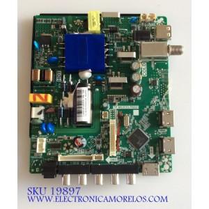 MAIN / FUENTE (COMBO) / ONN T201808109A / TP.MS3553.PB801 / HV430FHB-N10 / PANEL CN430CN6210 / MODELO ONC18TV00