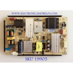 FUENTE DE PODER  / SEIKI AY118D-3SF05 / 34021486 / 3BS00809 / MODELO SC-50UK700N