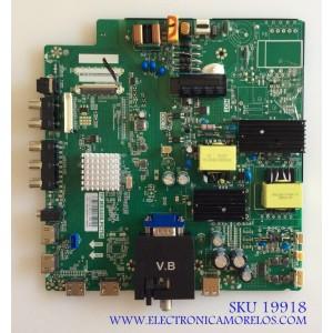 MAIN / FUENTE (COMBO) / SCEPTRE T201806228A / TP.MS3458.PC758 / C18076228 / KU-515R / PANEL V500DJ6-QE1 / MODELO W50