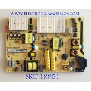 FUENTE DE PODER / TCL / 08-L171W44-PW210AA / 40-L141W4-PWC1CG / CCP-508 / PANEL LVU650NEBL / MODELO 65S513