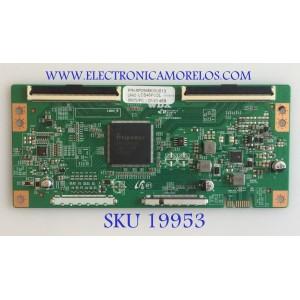 T-CON PARA TV ELEMENT / NUMERO DE PARTE 6P296M00U013 / H57302PN080A1 / LC546PU2L / MODELOS  E4SFT5517 A9L2M / E4SFT5517 H8D1H / E4STA5517 H8L1M / WE55UN4108 / RNSMU5536-B