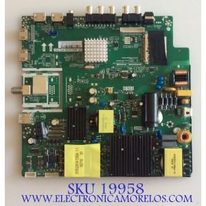 MAIN / FUENTE (COMBO)/ RCA / AE0011138 / TP.MS3458.PC757 /  A18073841 / B18073696 /  JE0DZ1C0252 / PANEL JE601R3HB3L / MODELO RTU6050