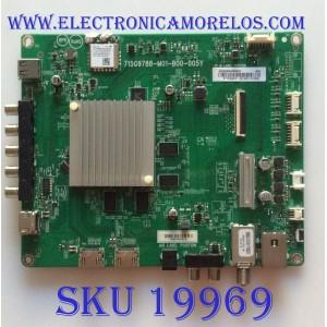 MAIN / VIZIO / 756TXICB0QK0020 / 715G9788-M01-B00-005Y / XHCB02K022520X / S1808245885 / PANEL TPT650UA-QVN06.U   REV:S300AH / MODELO D65-F1