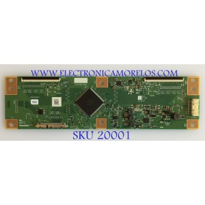 T-CON / SEIKI / RUNTK0334FVYH / 1P-0171X00-40SB / MODELO SC-60UK850N
