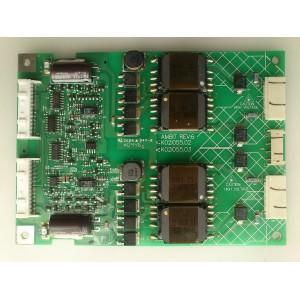 BACKLIGHT INVERSOR / SAMSUNG K02I055.02 MODELO PANASONIC TC-32LX20