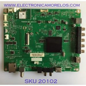 MAIN / VIZIO / 756TXICB02K0340 / 715G8320-M2B-B03-004Y / (X)XICB02K034010X / I8KKX8 / PANEL TPT320B5-FHBN0.K REV. 49P2AN /  MODELO D32F-F1 LTQUVMQU