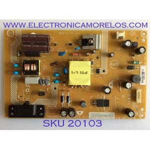 FUENTE DE PODER / VIZIO / ADTVG1206XA6 / 715GA182-P01-000-002S / (X)ADTVG1206XA6 / PANEL TPT320B5-FHBN0.K REV. 49P2AN / MODELO D32-F1 LTQUVMQU