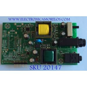 TARJETA STANBY / RCA / 1485T-DPS-09 / KME140312KPG / DPS1485T-V09 / PANEL LC550DUY-SHA / MODELO J55HE840