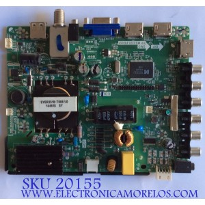 MAIN / FUENTE / (COMBO) / UPSTAR / H14120019 / TP.MS3393.PB851 / 22002A0048T05 / BP32ES8 / PANEL BOEI320NX1 / MODELO P32ES8