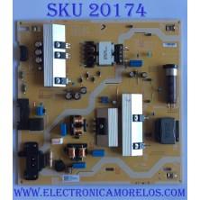 FUENTE DE PODER / SAMSUNG / BN44-00932N / L55E7_RSM / BN4400932N / MODELOS UE58RU7102KXXH / UA49RU7300WXZW / UE49RU7300KXXU / UA55RU7100KXMR / UA55RU7100KXXM / UA55RU7100KXXS / UA55RU7100KXXT / UN55RU7100FXZA FA01  (MAS MODELOS EN DESCRIPCIÓN)
