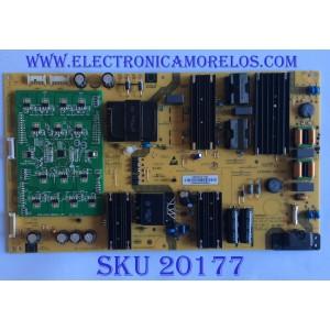 FUENTE DE PODER PARA TV QUANTUM 4K UHD HDR SMART TV / NUMERO DE PARTE 0500-0619-1260 / SHG5516A-237E / 25-DB5592-X2P1 / CQC14134104969 / 050006191260 / PANEL T550QVN05.D / MODELO M557-G0 / M557-G0 LAUAQC / M557-G0 LAUAQCKV