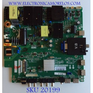 MAIN / FUENTE / (COMBO) / SCEPTRE / C18076301 / TP.MS3458.PC758 / 8142123342088 / T201806301A / HV550QUB B21 / U550CV-UMR / PANEL CN55XB621 / MODELO  W55 UXTV58FE