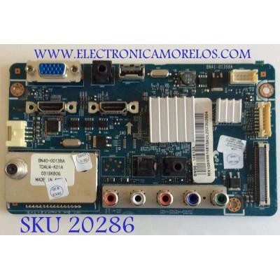 MAIN SAMSUNG / BN96-14813A / BN41-01350A / BN97-04013A / PARTES SUSTITUTAS BN94-02649B / BN94-02649D / BN94-02649E / BN94-02649F / PANEL T315HA01-DB / MODELO LN32C350D1DXZA / MAS PARTES SUSTITUTAS EN DESCRIPCION