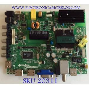 MAIN FUENTE (COMBO) ELEMENT / Y14090006 / TP.MS3393.PB851 / F50TPMS3393PB851007 / PANEL LC400J6E1L1440 / MODELO ELEFT407