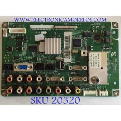 MAIN SAMSUNG / BN96-11779A / BN97-03483D,E / BN41-01209A / PANEL'S V400H1-L03 REV C1 / T400HW01 / MODELO LN40B530P7NXZA