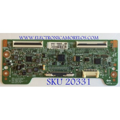 T-CON SAMSUNG / BN95-00856A / BN41-01938B / BN97-06994A / PANEL CY-HF400BGLV1H / MODELOS UN40F5500AFXZA TS01 / HG40NB677FFXZA / HG40NB678FFXZA / LH40MECPLGA/ZA / UN40EH5000FXZA / UN40F5000AFXZA /  HG40NB670FFXZA