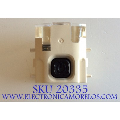 MODULO BOTON POWER ON TV LG / EBR77970485 / YWE7M90000A / PANEL LC550DUH / MODELO 552B6300