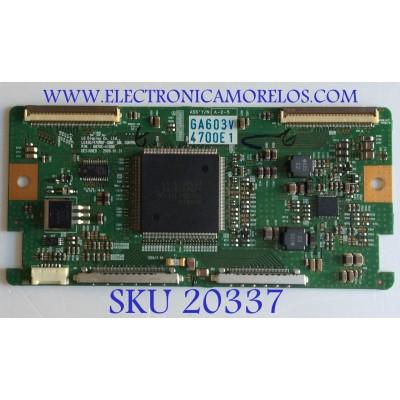 T-CON VIZIO / 6871L-4700E / 6870C-4100D / PANEL LC470WUF-(SB)(M1) / MODELO SV471XVT