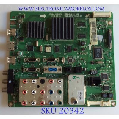 MAIN SAMSUNG / BN94-03143D / BN41-01149B / BN97-03814A / PARTES SUSTITUTAS BN94-02573A / BN94-02573B / BN94-02588A / PANEL T400HW02 V.5 / MODELOS LN40B640R3FUZA / LN40B640R3FXZA / MAS PARTES SUSTITUTAS EN DESCRIPCION