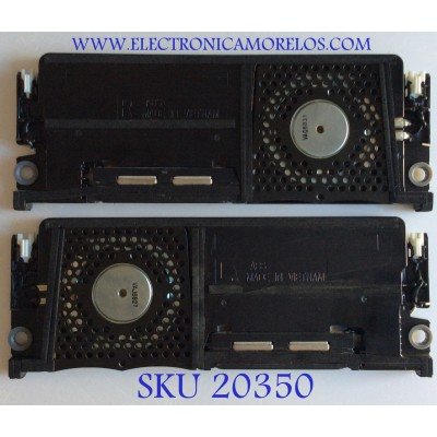 KIT DE BOCINAS PARA TV SONY / 1-859-140-11  / 1-859-140-21 / MODELOS  XBR-65X930D / XBR-55X930D / XBR-65X935D / XBR-65X937D