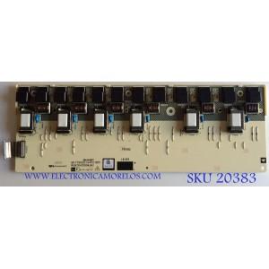 BACKLIGHT INVERTER SHARP / RUNTKA330WJN1 / QKITS0221S4P2 / 88-011717S / PANEL LK520D3LZ50R / MODELO LC-52D64U