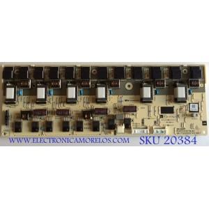 BACKLIGHT INVERTER SHARP / RUNTKA327WJN1 / QKITS0220S1P2(85) / PANEL LK520D3LZ50R / MODELO LC-52D64U