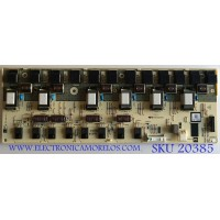 BACKLIGHT INVERTER SHARP / RUNTKA329WJN1 / QKITS0220S3P2(85) / PANEL LK520D3LZ50R / MODELO LC-52D64U