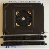 KIT DE BOCINAS PARA TV  SHARP / ZA456WJ / ZA457WJ / PS HI FR17 / MODELO LC-52LE810UN