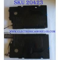 KIT DE BOCINAS PARA TV SAMSUNG / BN96-42182A / B117A / ABS-FR(40)K / MODELOQN65Q7FAMF