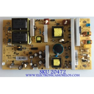 FUENTE DE PODER BACKLIGHT RCA / RE46DZ2007 / IPB740 / WP1202020 / 899-740-B007 / PANEL LC420WUE-(SC)(V1) / MODELO 42LA45RQ