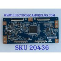 T-CON LG / 55.42T09.C15 / T315HW05 / 31T12-C04 / 5542T09C15 /  PANEL T420HW07 V.1 / MODELO 42LE5400-UC AUSDLUR