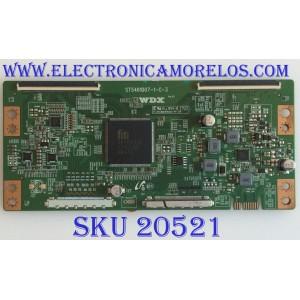 T-CON SEIKI / ELEMENT / 6S280MG0U011 / ST5461D07-1-C-3 / WDX / 568646D / PANEL MD5548YTSU / MODELOS SC-55UK700N / E4SFT5517 H8HXM