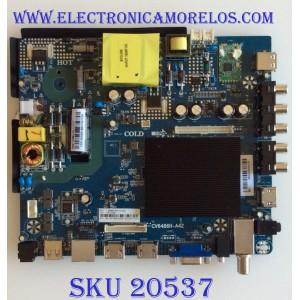 MAIN / FUENTE (COMBO) / ELEMENT E18125-SY / CV6486H-A42 / E18109-SY / CV6486H_A42_11-V / CV6486H_A42_11_171117 / 88J12571 / 103100069 / 7.D6486HA42110.3A6 / E198407 / 10001049812 / PANEL V500HJ4-Q01 REV.C2 / MODELO E2SW5018 J8CBM6B3