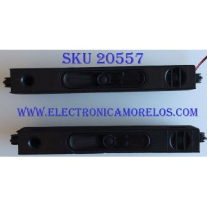 BOCINAS PARA TV JVC / LT65MA875 / LT65MA875-AAP / PANEL LSC650FN04 / MODELO LT65MA875-AAP