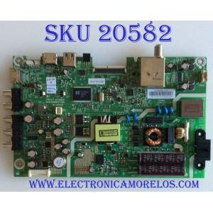 MAIN / FUENTE (COMBO) / LG 1603116LA / 1603116M / 5823-A6M69N-0P00 / CTI-600 / 1603116LA1267 / 32E3100 / E21887 / PANEL GLD320HY (BD0-L01) REV.00 / MODELO 32LH500B