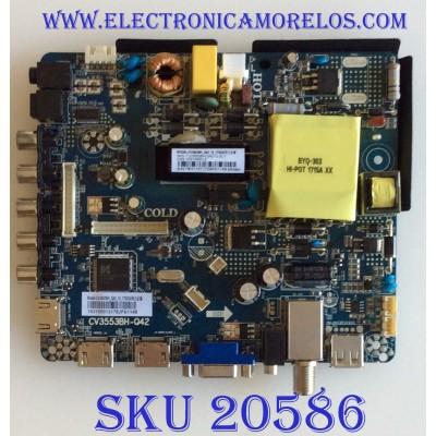 MAIN / FUENTE (COMBO) / ELEMENT E17120-15-SY / CV3553BH-Q42 / 78H1137 / 103100013 / 7.D3553BHQ4213.3C1 / CV3553BH_Q42_13_170324 / CV3553BH_Q42_Spec_ELEMENT_E17120_4_SY / MODELO ELEFW4017BF H7FZMM