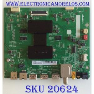 MAIN TCL / 08-AU55CUN-OC402AA / 40-MST10F-MAA2HG / V8-ST10K01-LF1V1291 / 08-MST1003-MA300AA / 08-MST1003-MA200AA / PANEL LVU550NDEL / MODELOS 55S423 / 55S421 / 55S421LGAA / 55S421LGAA