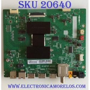 MAIN TCL / 08-SS55TML-LC324AA / 40-MST10F-MAA2HG / V8-ST10K01-LF1V1286 / 08-MST1003-MA300AA / PANEL  LVU550NDEL /  MODELO 55S423